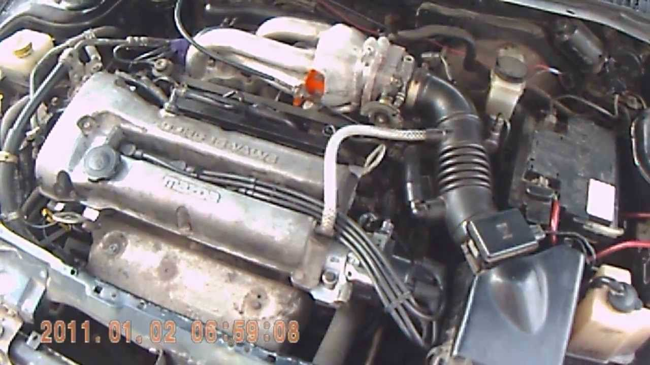 Mazda 323 I Solved The Problems At Idle
