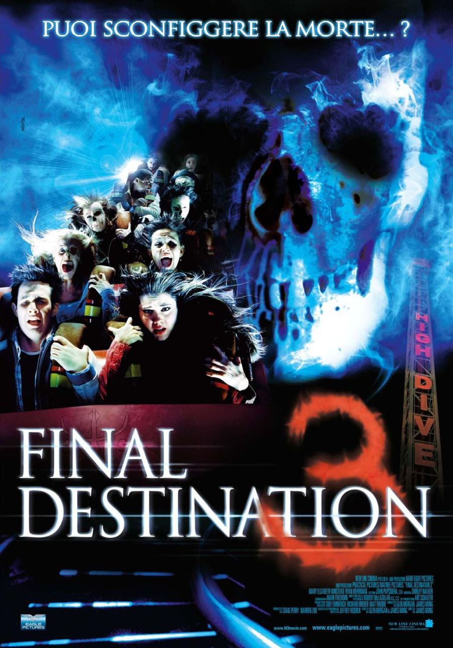 Final Destination 3 Scary Movies Final Destination Movies Final Destination 3