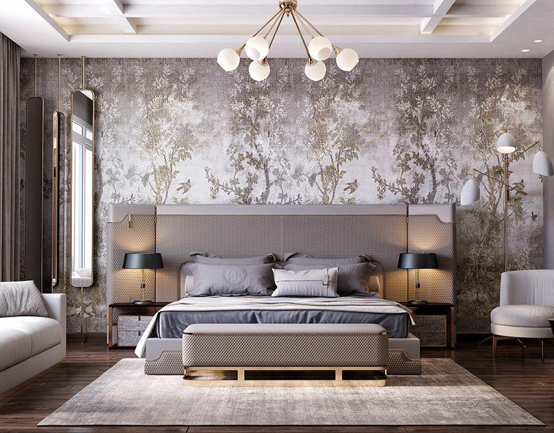 Best Luxury Master Bedroom On Behance Спальни Bedroom 400 x 300