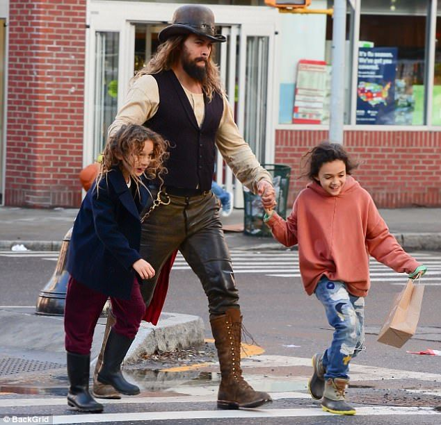 Jason Momoa Vest: Jason Momoa Sports Leather Bowler And Matching Breeches