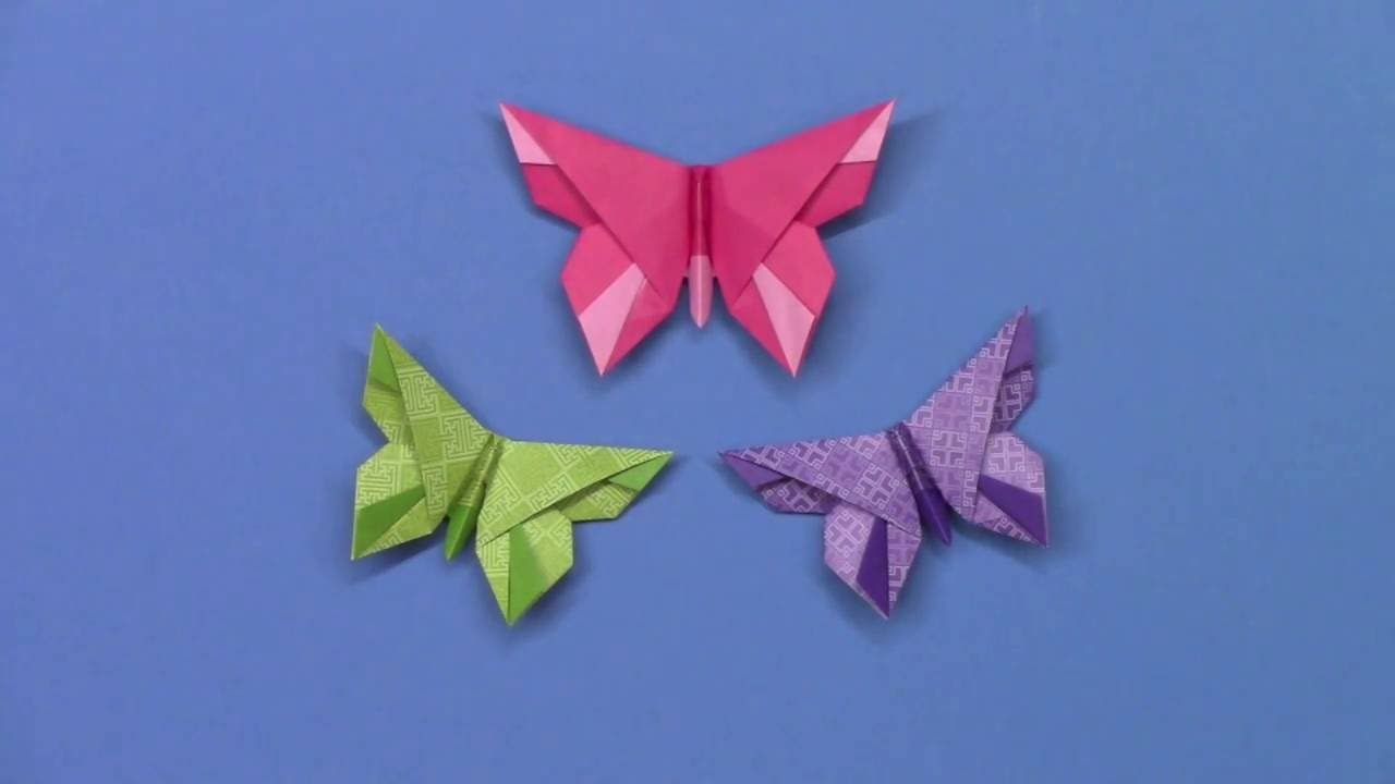 An Origami Butterfly For The Mihara Family Youtube Paper Folding Butterflyorigami Diagrambutterfly Origamiorigami