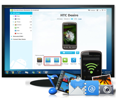 Android Data Transfer Software For Pc Mac Free Download Android Phone Android Features Android Gadgets