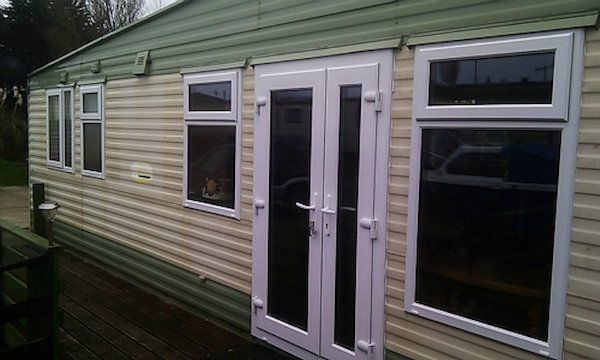 Get Your Mobile Home Up Graded By Replacing Old Windows And Doors With New Energy Efficient Upvc Double Glazed In A Range Of Colours