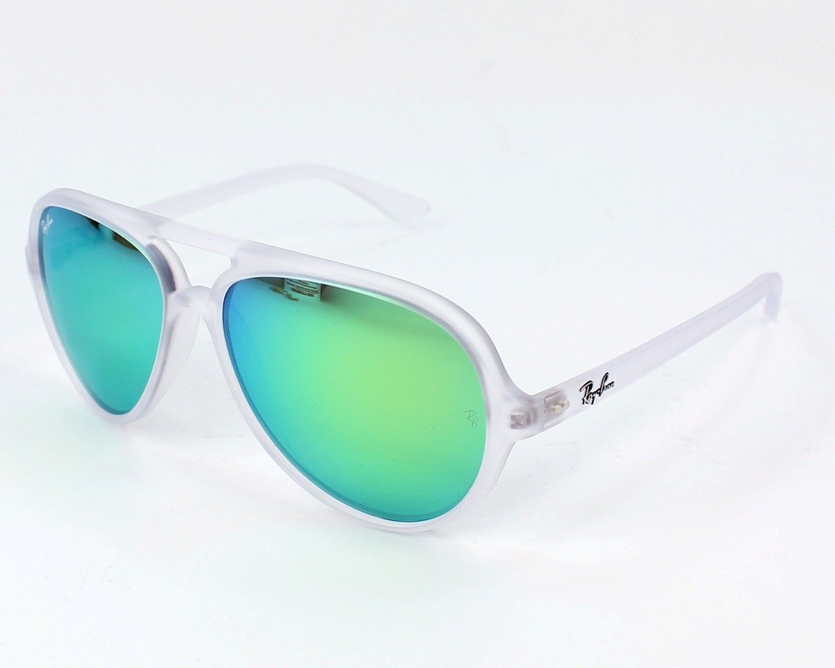 e62522c8ce6a39 Ray Ban Mens sunglasses. Reference Cats 5000 RB4125 646 19 - 59, frame in  Acetate colour Matt Crystal with Grey petrol mirror lenses and UV  protection  3.