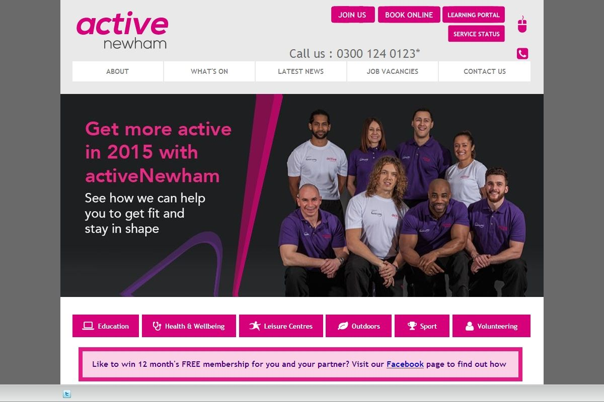 Activenewham We Are The Leisure Trust For Newham London Managing