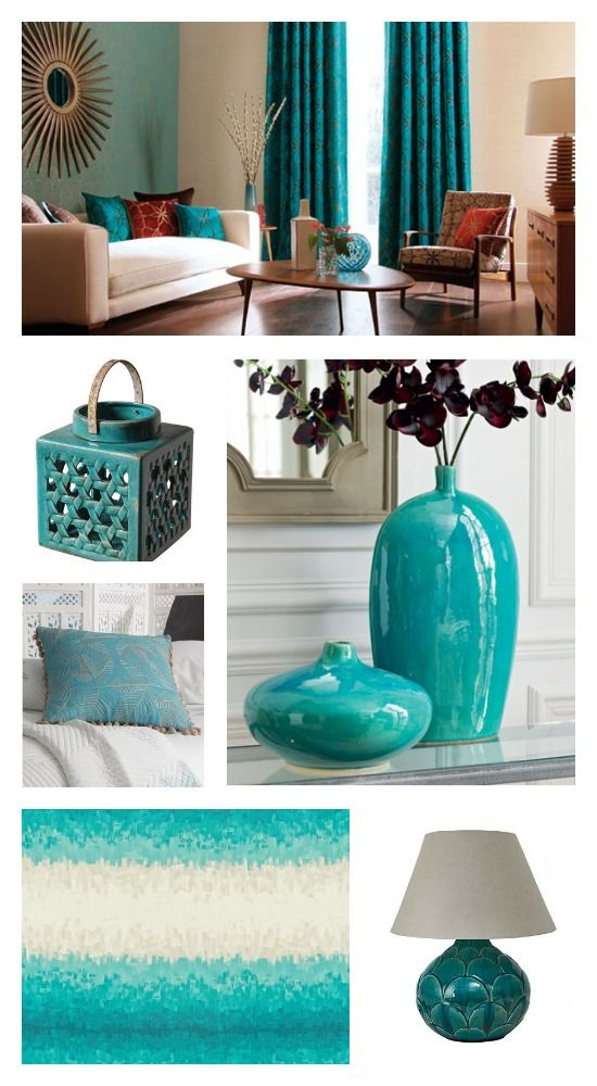 Beau Turquoise Home Accessories