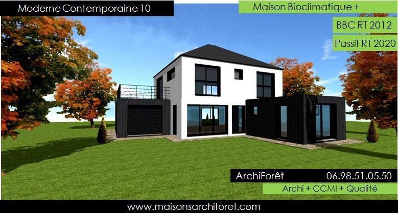 maison Contemporaine moderne et design d architecte constructeur