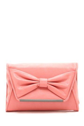 5e5e221751 pink bow clutch   LuLu