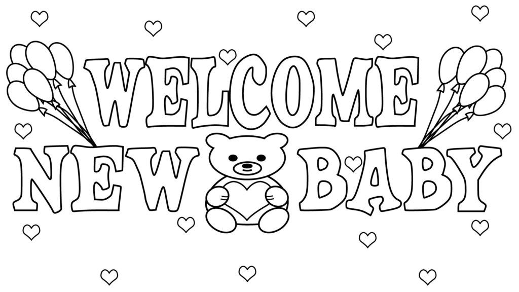 Free Printable Baby Shower Coloring Pages Baby Coloring Pages Coloring Pages Coloring Pages For Boys