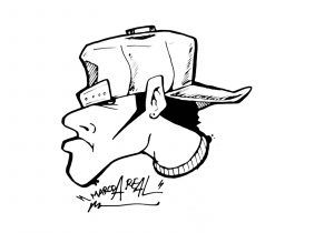 300x210 Gangster Drawing Pencil Graffiti Drawing A Gangsta Mickey