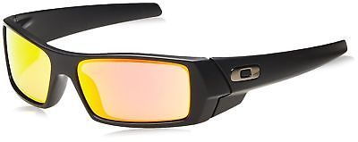 0260da23b Oakley Men's Gascan 26-244 Iridium Polarized Rectangular Sunglasses Matte  Black (eBay Link)