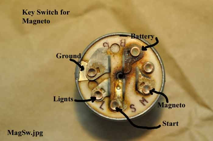 Wiring A Lawn Mower Ignition Switch