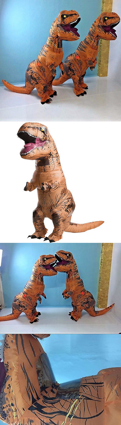Unisex 86207 New T Rex Adult Halloween Inflatable Dinosaur Costume Jurassic World Fancy Dress - : ebay dinosaur costume  - Germanpascual.Com