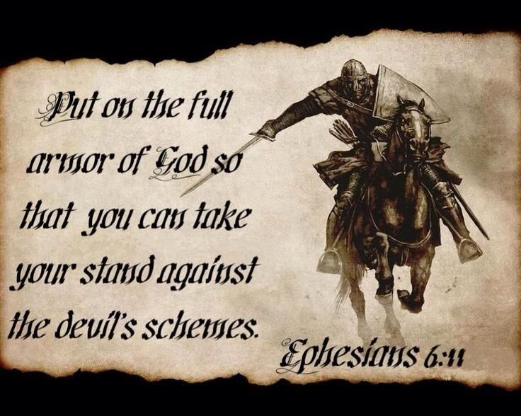 Image result for put on the armor of god verse