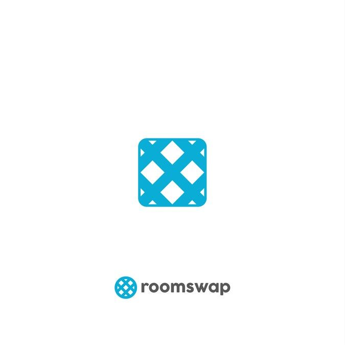 Logo for Room Swapping App for Travelers by Rawsign