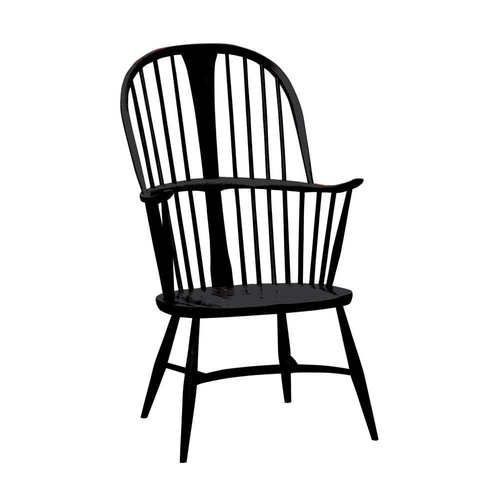 Der Sessel Von Ercol Aus Massivholz Ist Hohe Handwerkskunst Aus England.  Den Stuhl Und Andere Holzstühle Mit Und Ohne Armlehne Gibt Es In Unserem S..