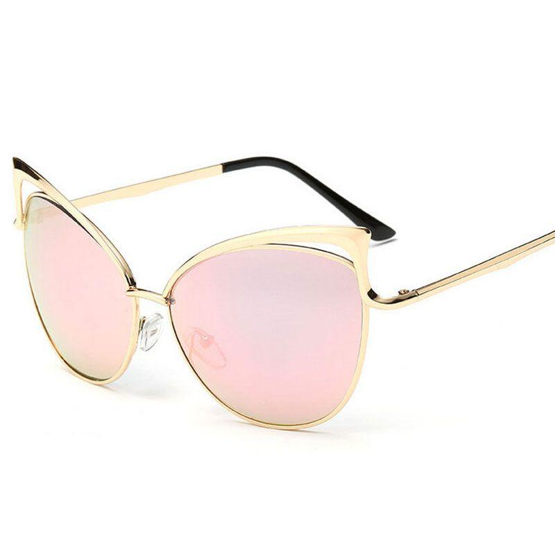 $4.52 (Buy here: https://alitems.com/g/1e8d114494ebda23ff8b16525dc3e8/?i=5&ulp=https%3A%2F%2Fwww.aliexpress.com%2Fitem%2FEyes-Sun-Cat-Glasses-for-Women-Women-s-Sunglasses-Summer-Syle-Metal-Brand-Designer-Vintage-Retro%2F32637105955.html ) Cat  Eye  Sunglasses Women  Summer Syle Metal Brand Designer Vintage Retro Oculos De Sol Feminino Gafas Femininas for just $4.52