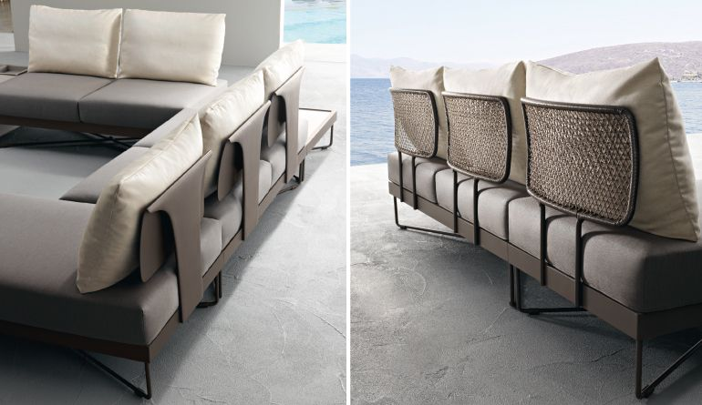 Outdoor Sofas Of Coral Reef Collection. Italian Patio Furniture Roberti  Rattan, Made In Italy Outdoor Furniture
