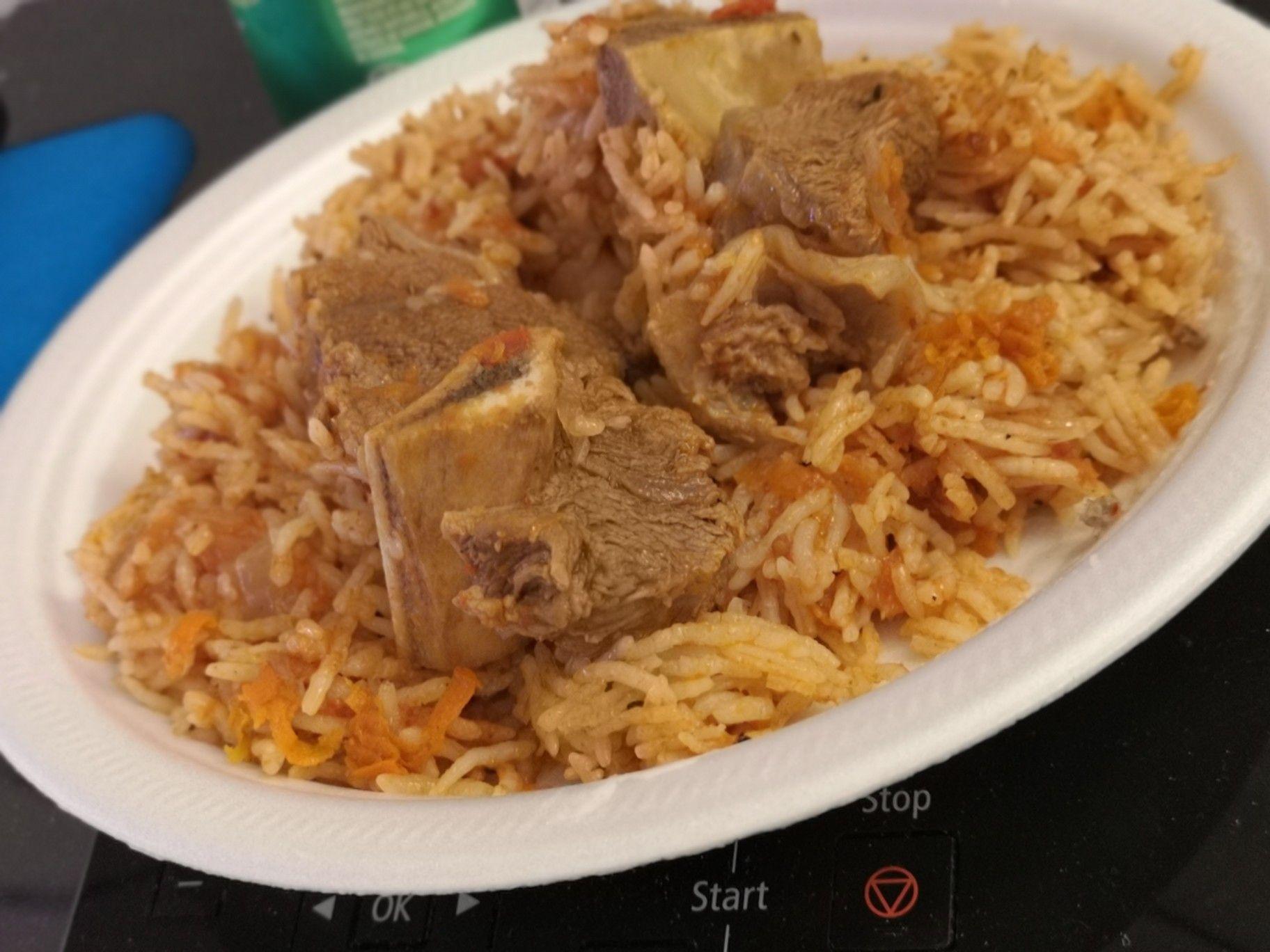 رز بخاري باللحم Bukhari Rice With Meat Cooking Food Recipes