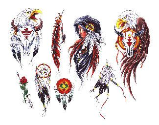 Blackfoot Tribe Symbols Tattoo