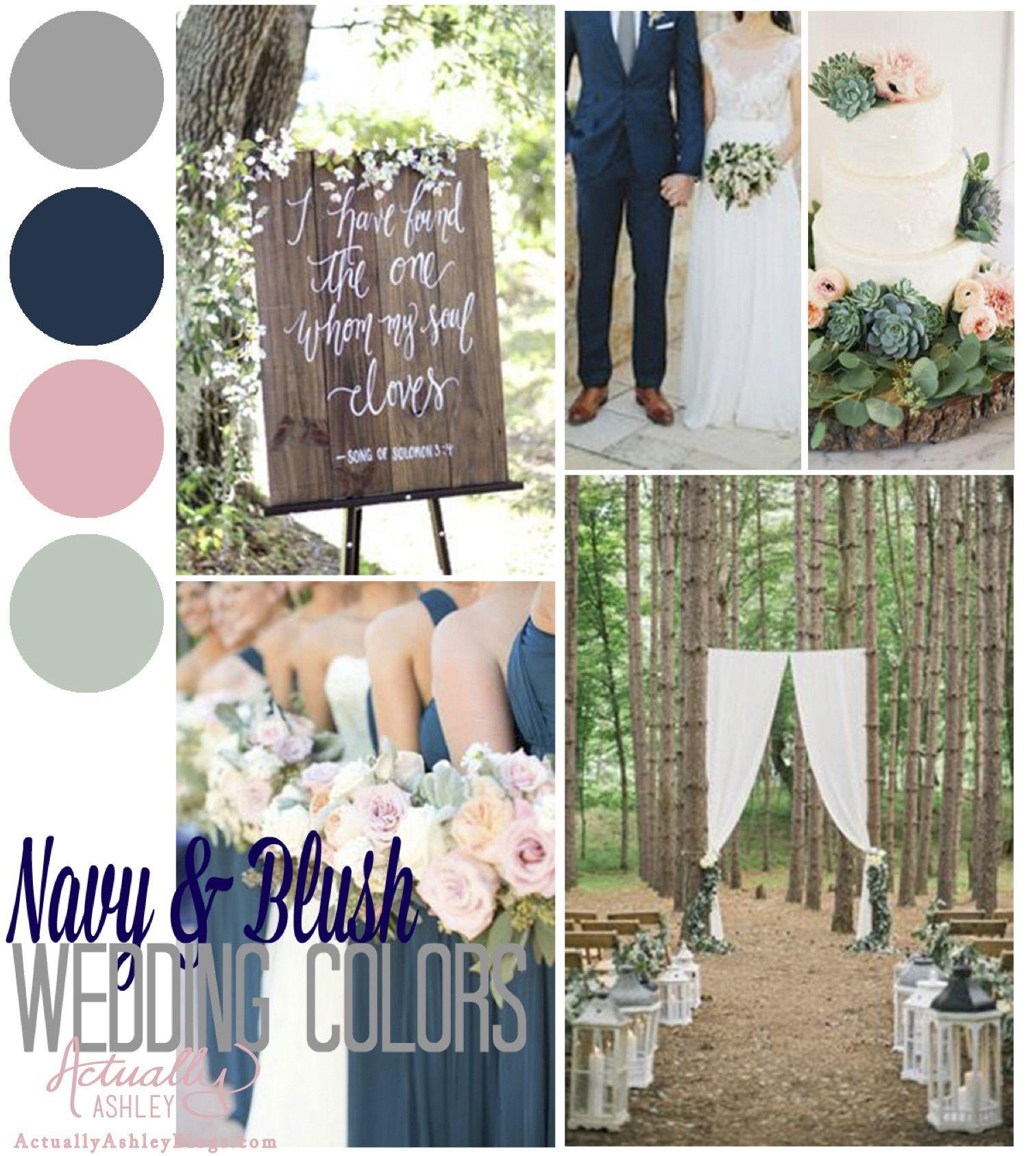 Wedding Planning Navy Blush Wedding Scheme Blush Wedding
