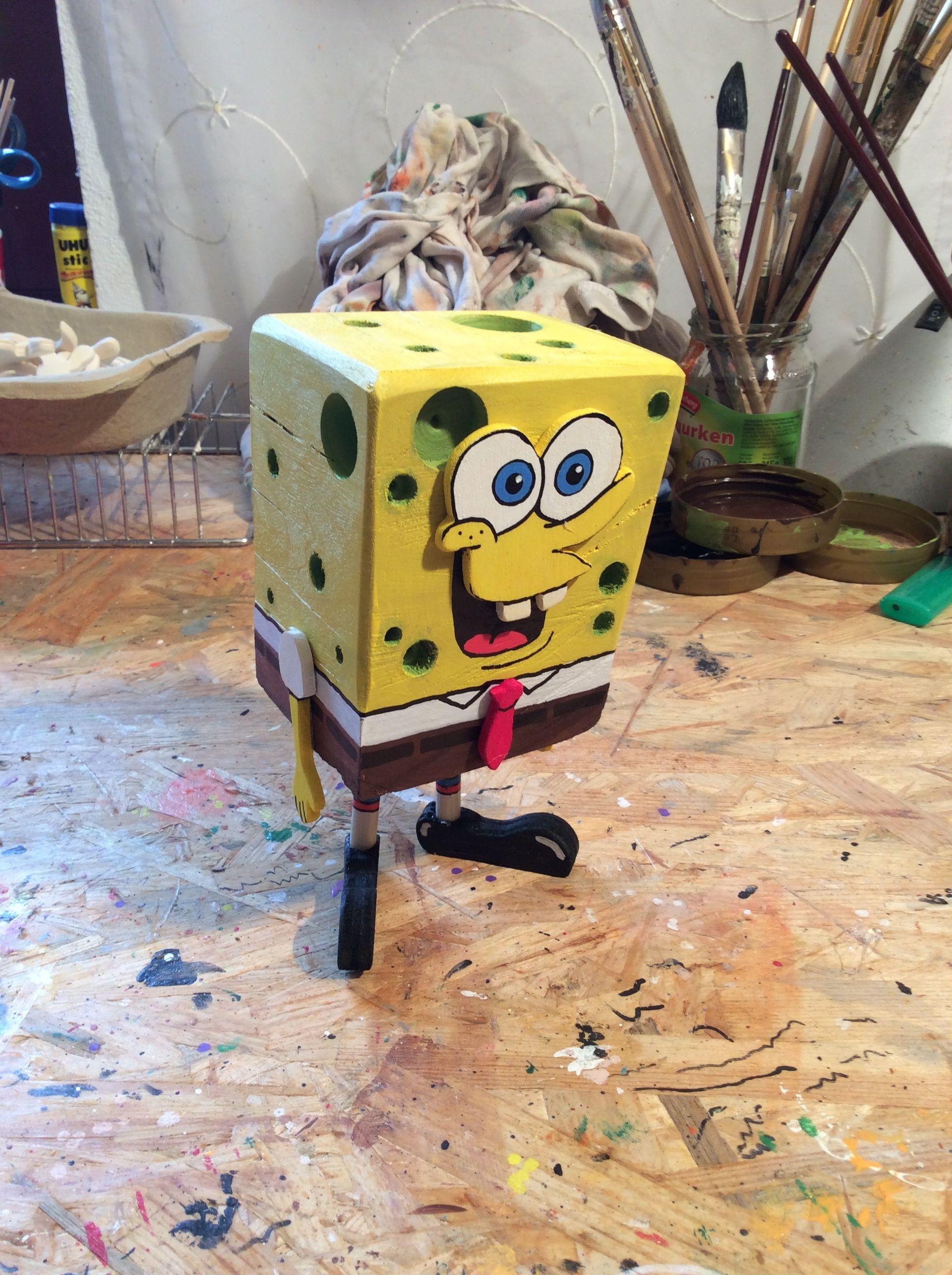 Holzfigur Und Holz Spongebob DiyHolztiereHolzfiguren bg7yYv6f