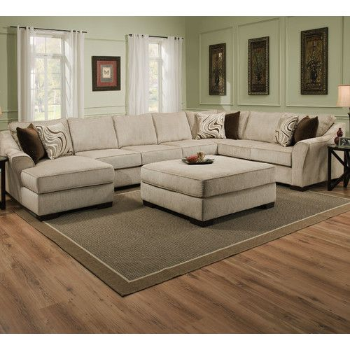 Home house & components rooms living room maximize your space and master your aesthetic with our living room designs, furniture and accessories. Found it at Wayfair - Stoneridge Sectional by Simmons ...
