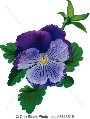 Kliparty Wektorowe Fiolek Bratek Kwiat Liscie Paczek Csp25613516 Szukaj Kliparty Ilustracje Rysunki Obrazy Eps I Gr Pansies Flowers Pansies Flower Art