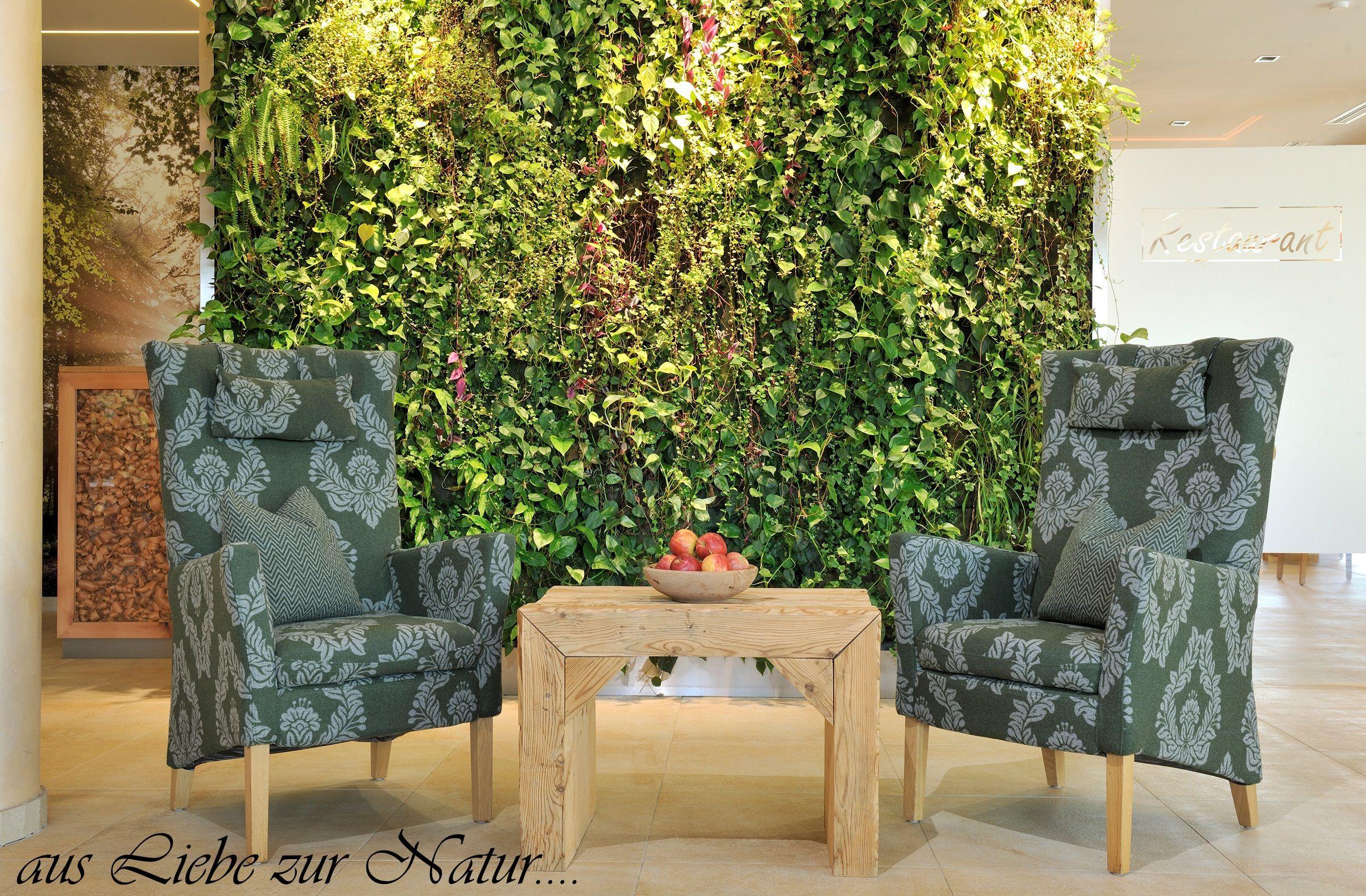 Bepflanzte Wand unsere grüne bepflanzte wand ist immer wieder ein kleiner highlight