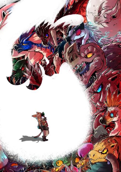 Monster Hunter World Monster Hunter Art Monster Hunter Memes