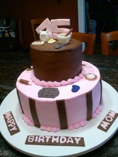 75th Birthday Cake Happy Mom