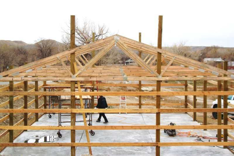 easy pole barn designs – Post Beam Garage Plans