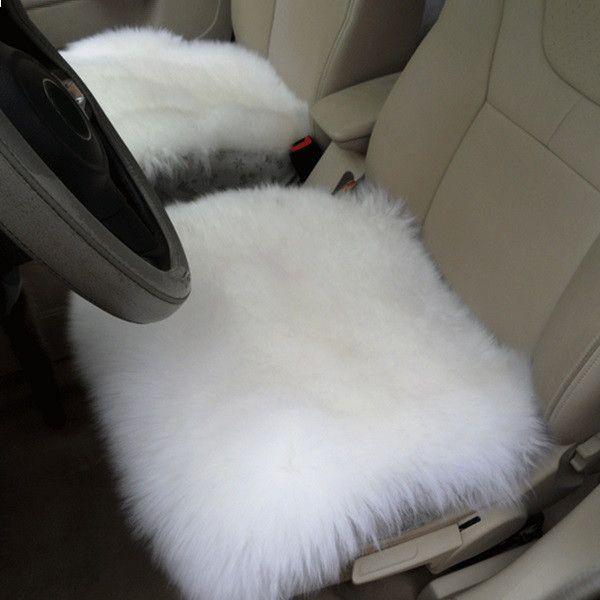 Winter Car Seat Cover Cushion Sofa Wool Warmer Pad Universal for SUV ...