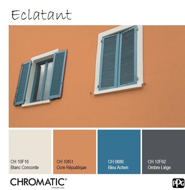Retrouvez Le Nuancier Chromatic Facade Sur Www Chromaticstore Com Couleur Facade Maison Couleur Facade Couleur