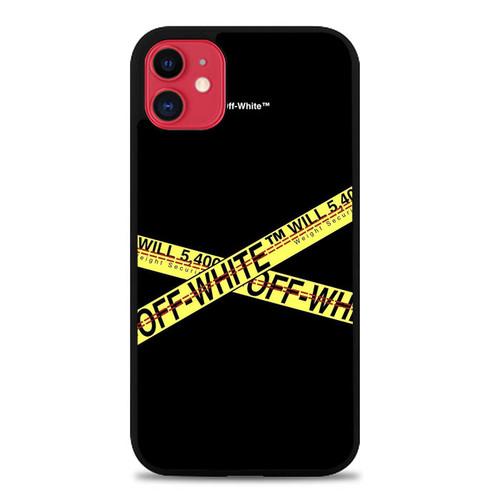 Off White Caution Tape P1616 Iphone 11 Case Iphone 11 Iphone Case