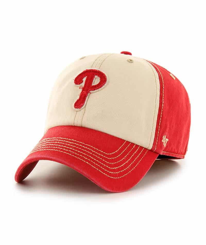 Philadelphia Phillies 47 Brand Maestro Red Franchise Fitted Hat In 2021