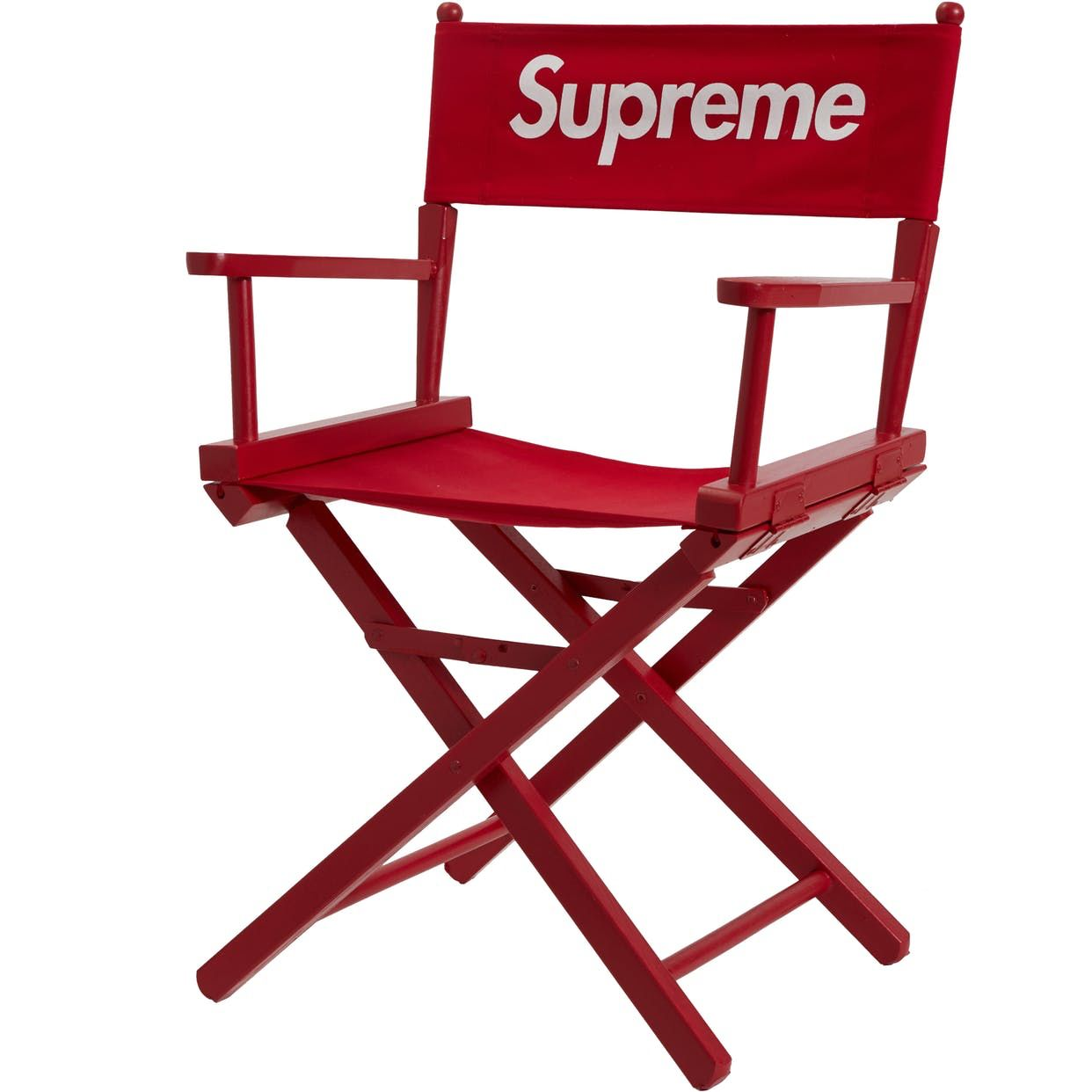 Check Out The Supreme Director S Chair Red Available On Stockx In 2020 Chair Photography Lounge Chair Outdoor Chair