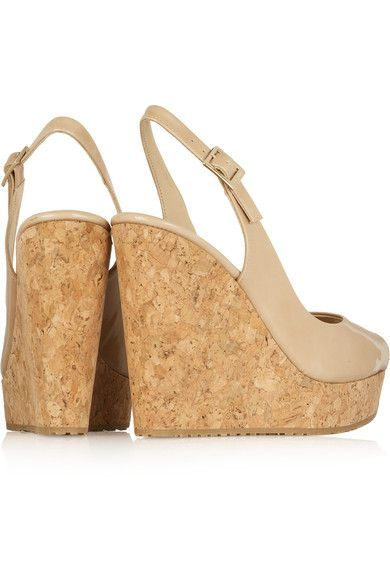 jimmychoo@#$69 on | Fashion trends | Wedge sandals, Leather