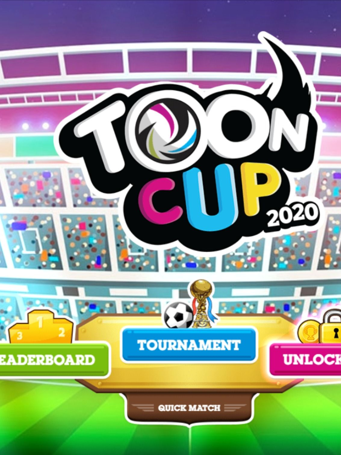 Toon Cup 2020 Html5 Football Game In 2020 Toon Cup Football Games Animated Cartoon Characters