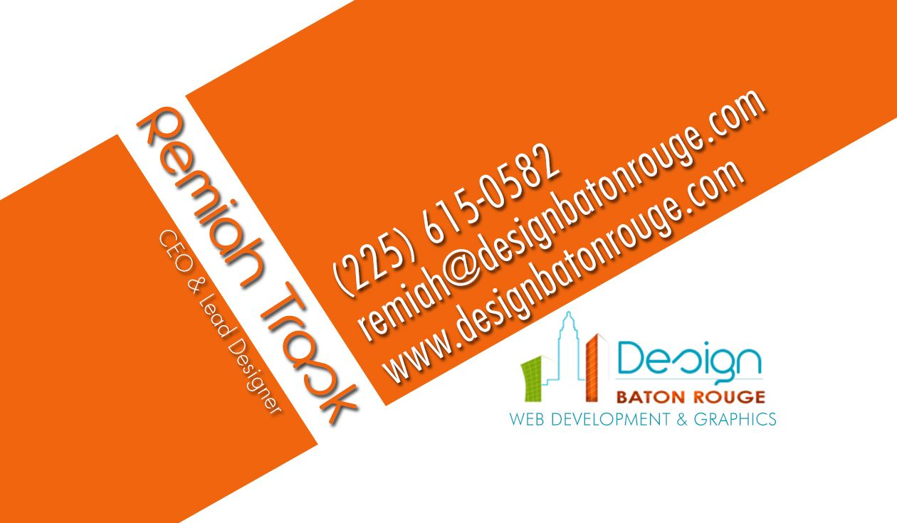 Design Baton Rouge Business Card | Business Cards | Pinterest ...