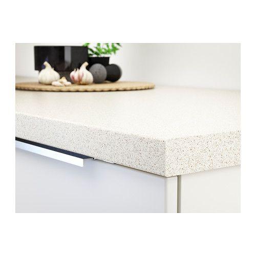 Saljan Comptoir Blanc Eff Pierre Stratifie Ikea Countertops