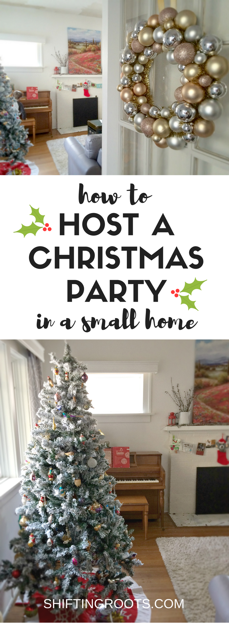 How to Host a Party in a Small Space | Holiday Ideas | Pinterest ...