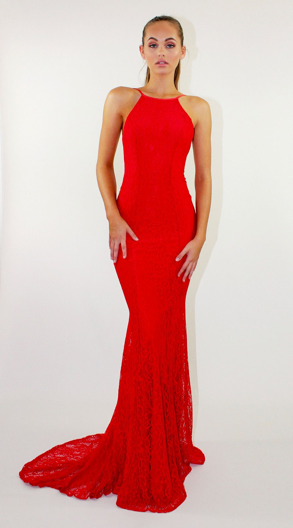Reckless Red | Backless formal dress, Prom and Red formal dresses