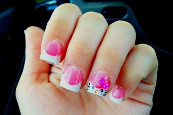 20 Cute Hello Kitty Nail Art Designs Supplies Stickers 3 Hello
