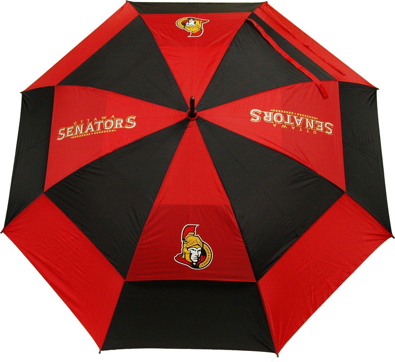 "Team Golf Ottawa Senators 62"" Double Canopy Umbrella Nhl"