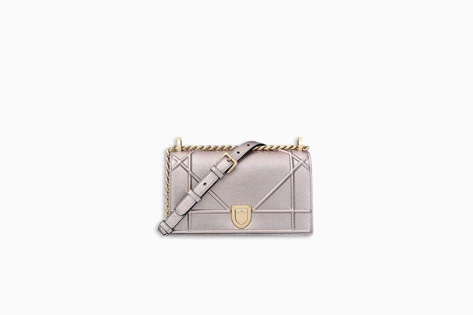 56cb2d6885 SMALL DIORAMA BAG IN COPPER-TONE METALLIC GRAINED CALFSKIN - Diorama ...