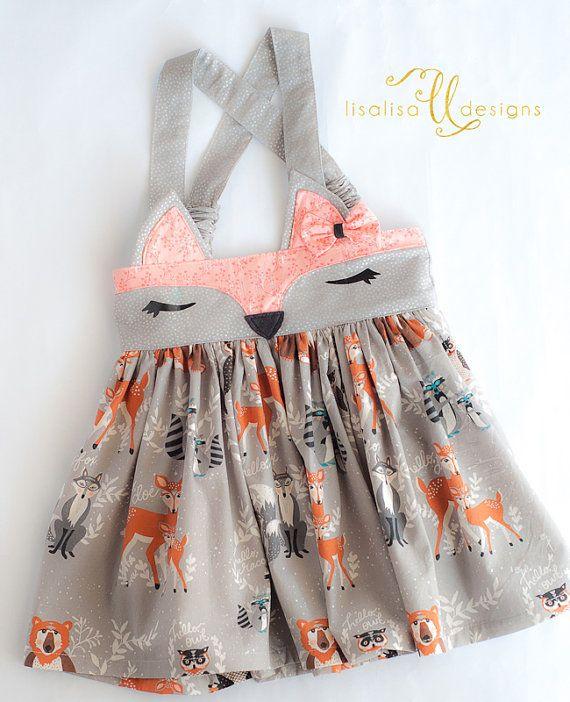 Fox Skirt-Boho Baby-bohemian-Woodland Fox-Woodland birthday