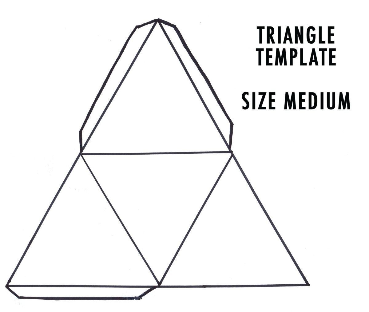 Blank Food Pyramid Template