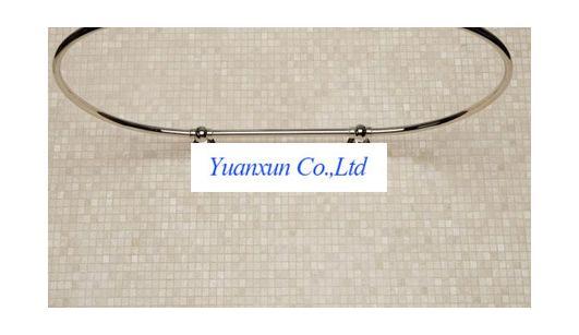 Douche Gordijn Rails : Goedkope ovale bad u vormige gebogen douchegordijn staaf speciale