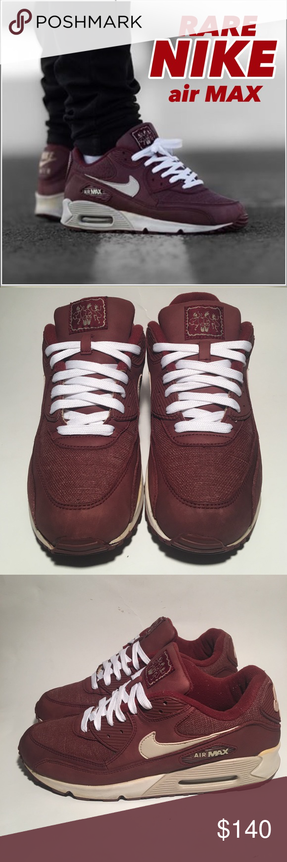 """quality design fc40f 213d6 Very """"RARE"""" - Nike Air Max SIZE 10 nike air max 90 redwood island drum (RARE  Collectors item) Nike Shoes Sneakers"""